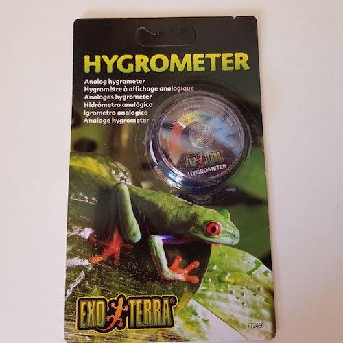 Hygrometer, rund Exoterra