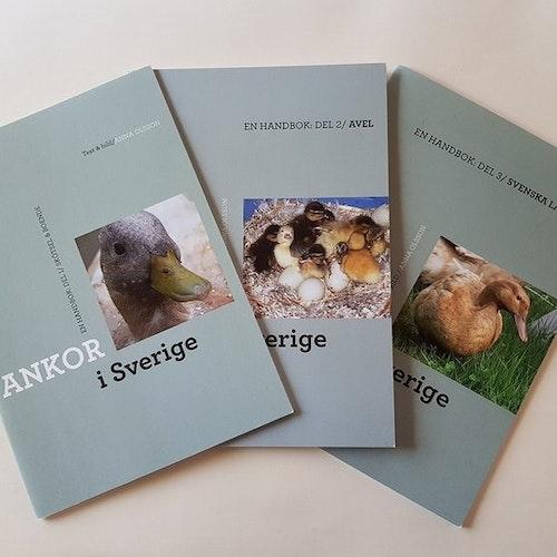 Ankor i Sverige Paket 3 delar
