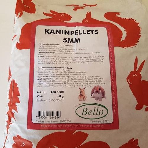 Bello Kaninpellets 5 kg