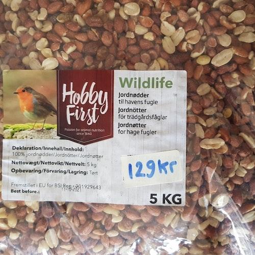 Jordnötter skalade 5 kg