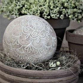 Dekoration Stor Boll Mandala 12 cm