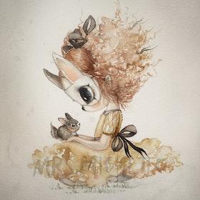 Mrs Mighetto Poster Miss Elba 50x70