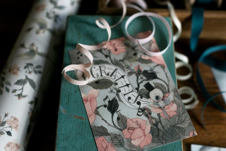 Mrs Mighetto 2-pack Grattis Kort Roses