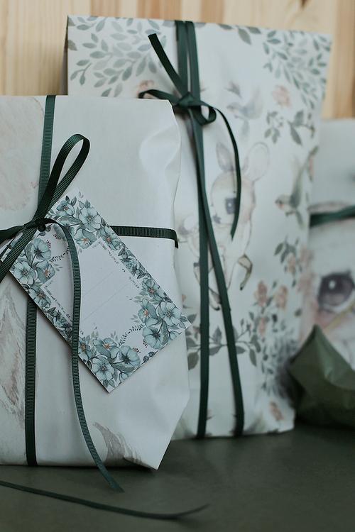 Mrs Mighetto 10-pack Present etiketter