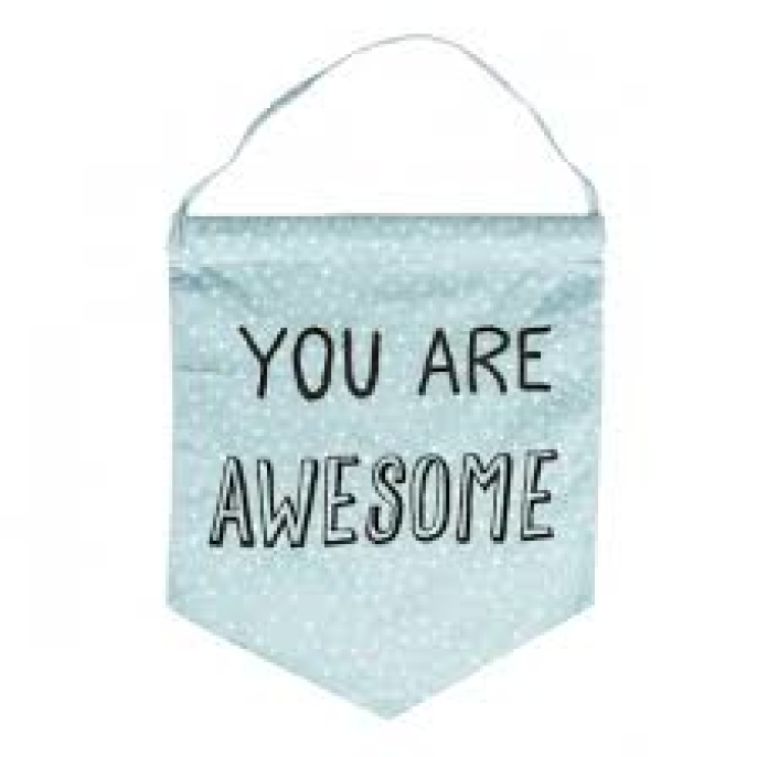 Vimpel 'You Are Awesome'