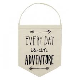 Vimpel 'Every Day is an Adventure'