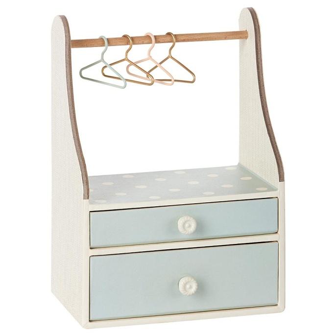 Maileg - Garderob inkl galgar