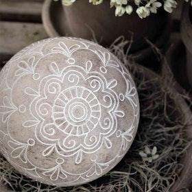 Dekoration Liten Boll Mandala 8 cm