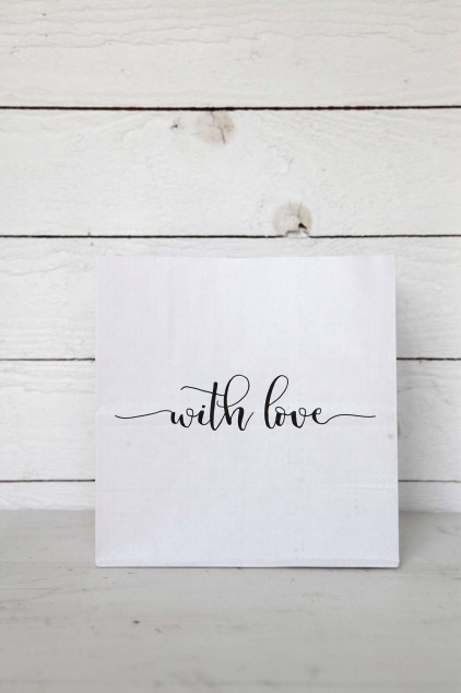 Presentpåse 'With love'