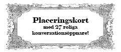 27 st Placeringskort till Fest för Bordsplacering