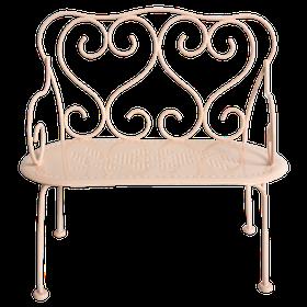 Maileg - Romantisk Bänk puder rosa