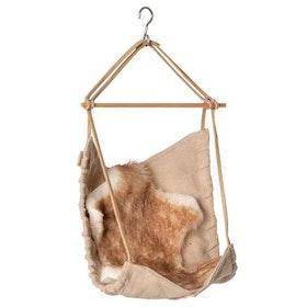 Maileg - Hängande stol med päls