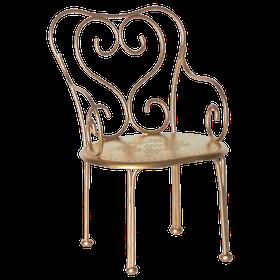 Maileg - Romantisk Stol guld