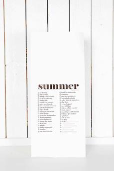 Presentpåse 'summer'