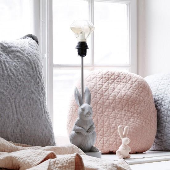 Bordlampa Hare grå