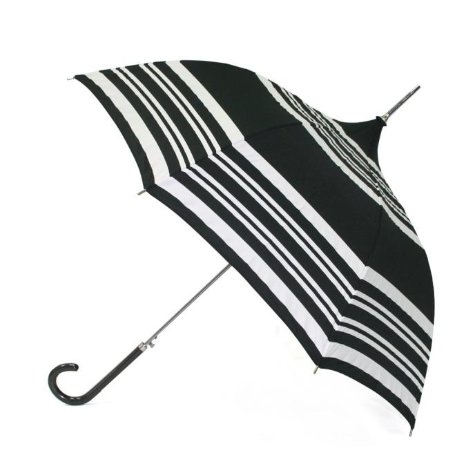 Molly Marais - Elegant paraply i svartvitt