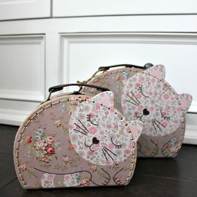 Sass & Belle - Floral Cat Väskor set 2- pack