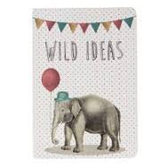 Sass & Belle - Party Animals mini pocket notebook Elephant