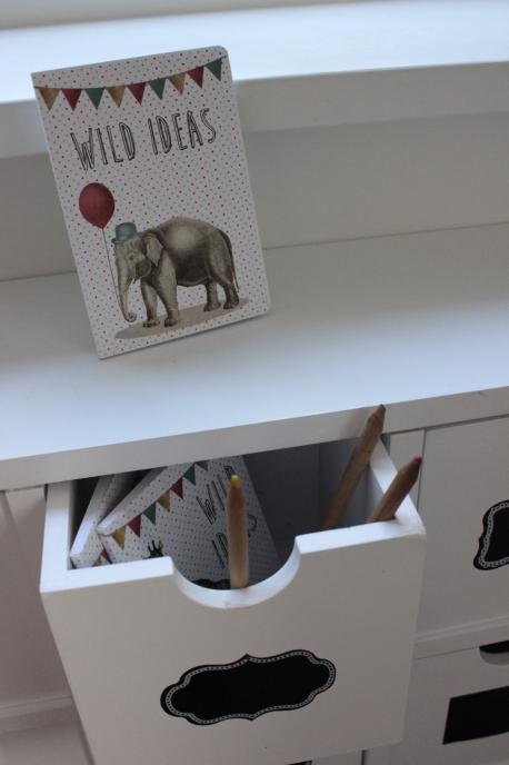 Sass & Belle - Party Animals mini pocket notebook Elephant