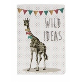 Sass & Belle - Party Animals mini pocket notebook Giraff