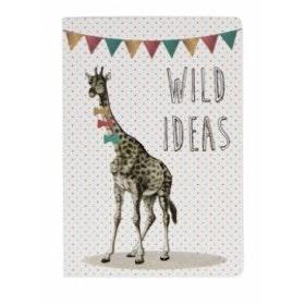 Sass & Belle - Party Animals mini pocket notebook Giraff