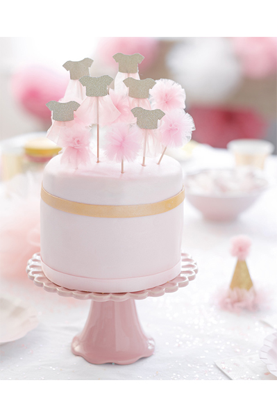 Cake toppers / Drinkpinne i 12-pack