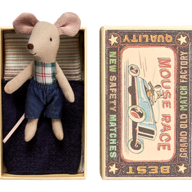 Maileg - Mouse Little Brother in a Box