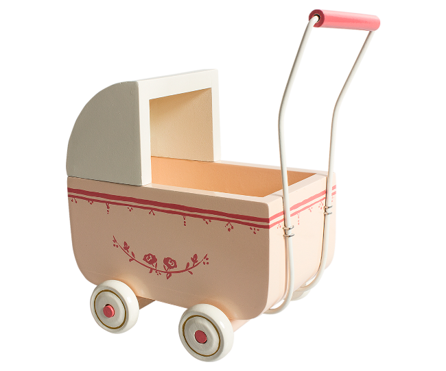 Maileg - Micro Vagn Ljusrosa
