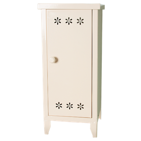 Maileg - Stor vit garderob