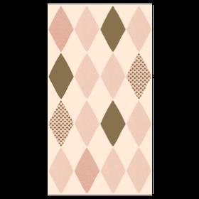Maileg - Servetter Harlekin 16-pack Rosa