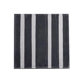 Tine K - Kakelplatta Stribet svart