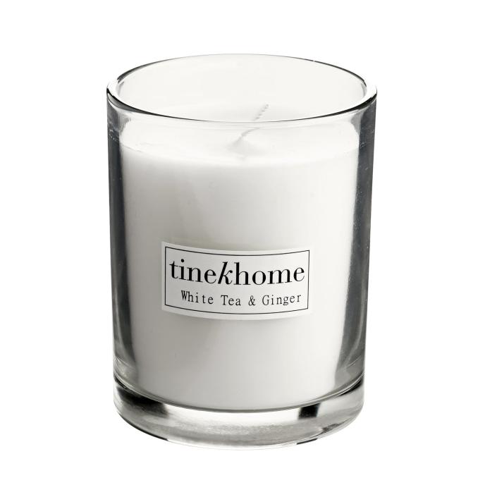 STORSÄLJARE! Tine K - White Tea & Ginger doftljus