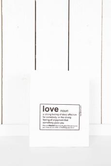 Presentpåse 'LOVE'