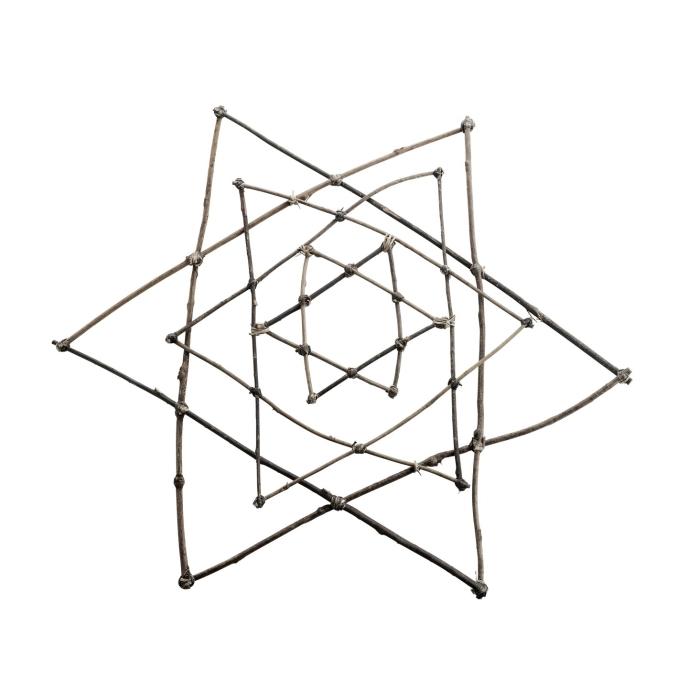 Tine K - Dekoration Stjärnor 3-pack