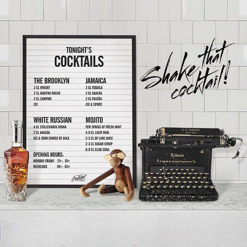 Poster Cocktails 50x70