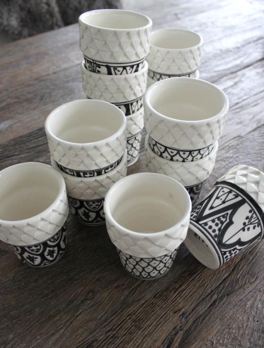 Marockansk Kaffe/Te Mugg
