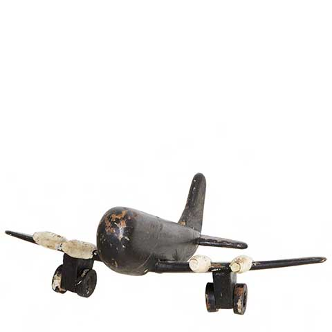Dekoration Flygplan i trä SISTA EX