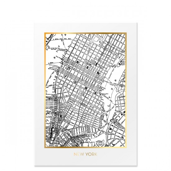 Poster New York 50x70