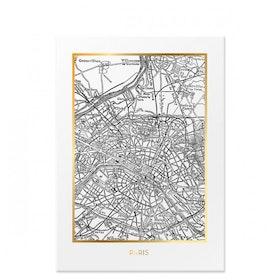 JULKLAPPSTIPS 🌲 Poster Paris 50x70