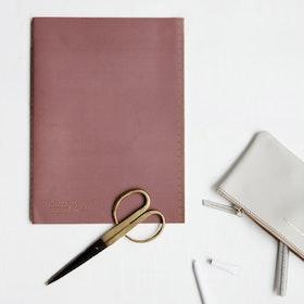 Monograph Anteckningsblock Burgundy