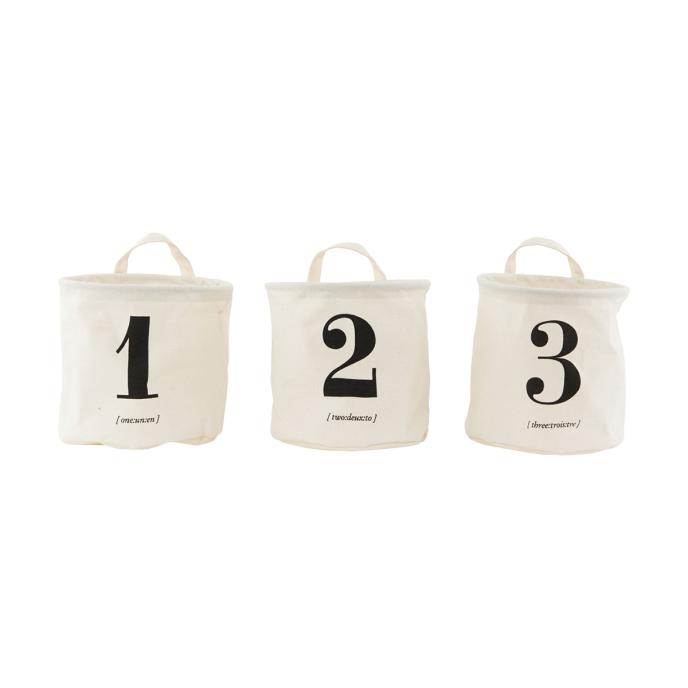 House Doctor - Förvaringskorg NO.1-2-3