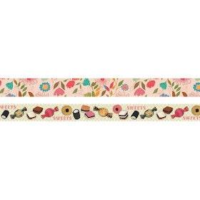 Maileg - Tejp på rullar 2-pack Sweets/Flower