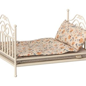 Maileg - Vintage bed micro sand inkl madrass & bäddset