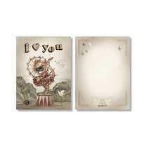 Mrs Mighetto 2-pack kort Moon Love