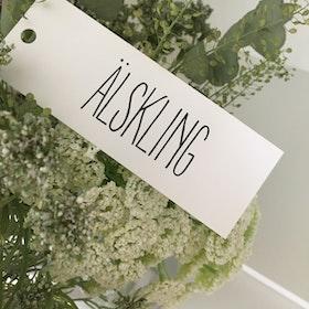 Kort 'Älskling'