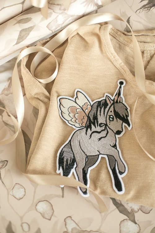 Mrs Mighetto Patch Flying Pony 1-PACK