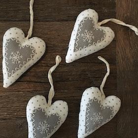 Hjärta hänge Juldekoration