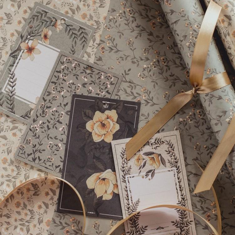Mrs Mighetto Present tags Iris & Sixten 10-pack