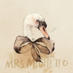 Mrs Mighetto Poster Lady Lake 30x40