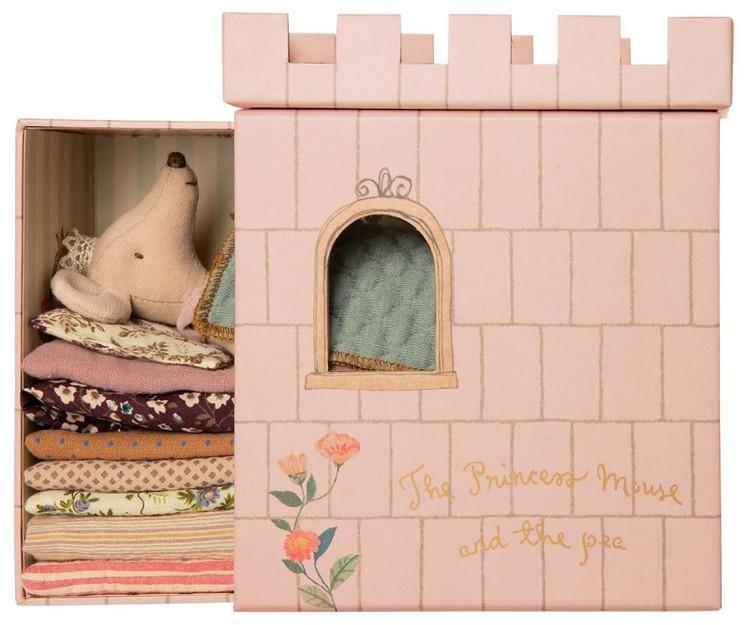 Prinsessan på ärten i slott